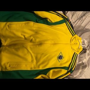 ADIDAS Brazil World Cup Germany zip up sweatshirt